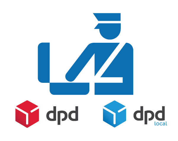 DPD and DPL Local UK customs logo