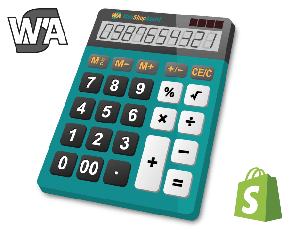 Shopify cost calculator by WebShopAssist